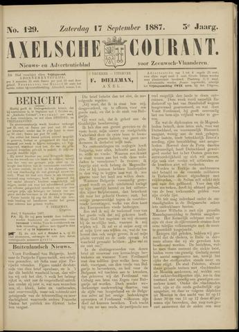 Axelsche Courant 1887-09-17