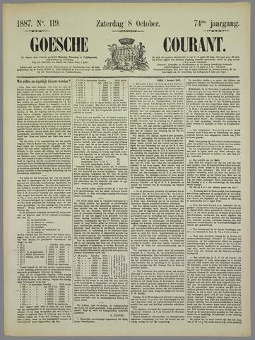 Goessche Courant 1887-10-08