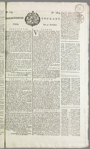 Zierikzeesche Courant 1814-12-30