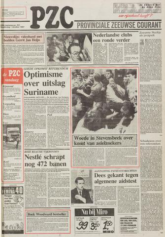Provinciale Zeeuwse Courant 1987-10-01