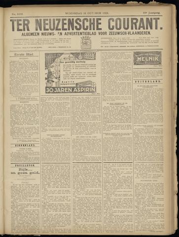 Ter Neuzensche Courant. Algemeen Nieuws- en Advertentieblad voor Zeeuwsch-Vlaanderen / Neuzensche Courant ... (idem) / (Algemeen) nieuws en advertentieblad voor Zeeuwsch-Vlaanderen 1929-10-16