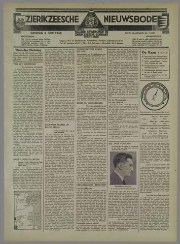 Zierikzeesche Nieuwsbode 1940-06-04