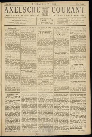 Axelsche Courant 1936-06-30