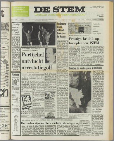 de Stem 1975-03-14