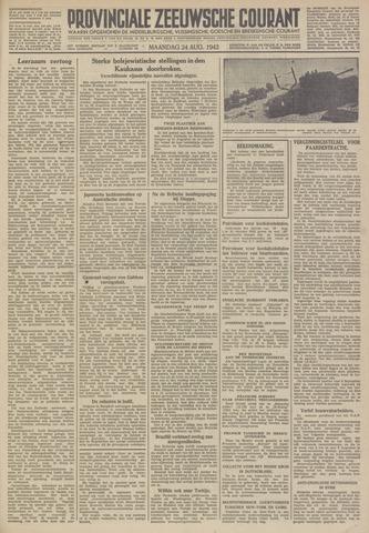 Provinciale Zeeuwse Courant 1942-08-24