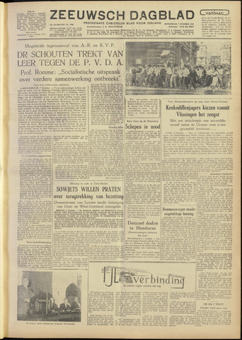 Zeeuwsch Dagblad 1954-10-07