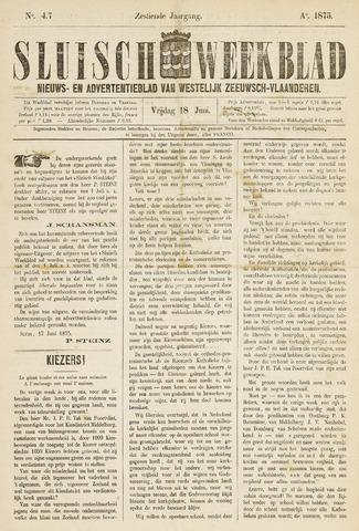 Sluisch Weekblad. Nieuws- en advertentieblad voor Westelijk Zeeuwsch-Vlaanderen 1875-06-18