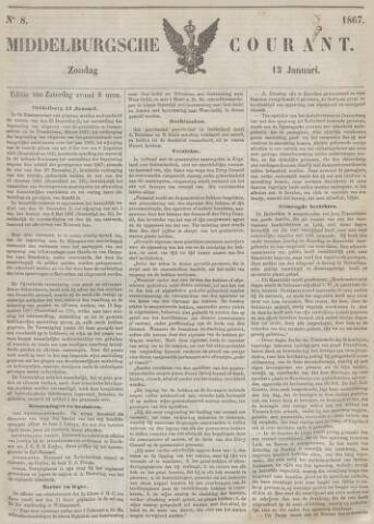 Middelburgsche Courant 1867-01-13