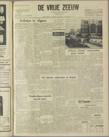 de Vrije Zeeuw 1961-11-02