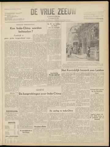 de Vrije Zeeuw 1954-05-22