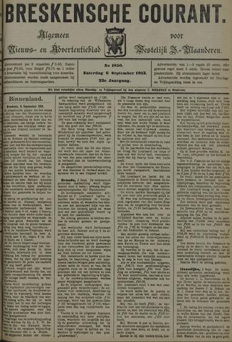 Breskensche Courant 1913-09-06
