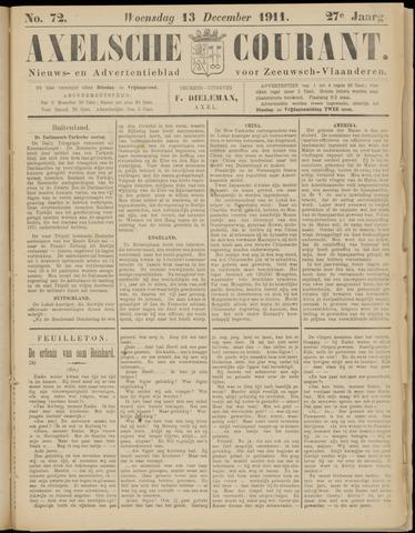 Axelsche Courant 1911-12-13