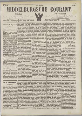 Middelburgsche Courant 1899-09-15