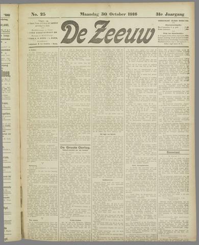 De Zeeuw. Christelijk-historisch nieuwsblad voor Zeeland 1916-10-30