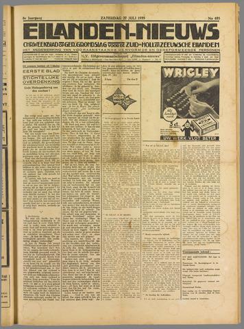 Eilanden-nieuws. Christelijk streekblad op gereformeerde grondslag 1935-07-27