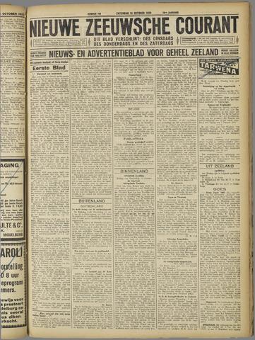 Nieuwe Zeeuwsche Courant 1923-10-13