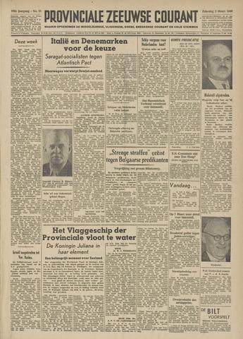 Provinciale Zeeuwse Courant 1949-03-05