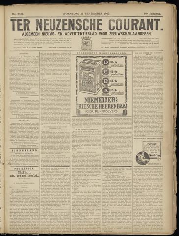 Ter Neuzensche Courant. Algemeen Nieuws- en Advertentieblad voor Zeeuwsch-Vlaanderen / Neuzensche Courant ... (idem) / (Algemeen) nieuws en advertentieblad voor Zeeuwsch-Vlaanderen 1929-09-11