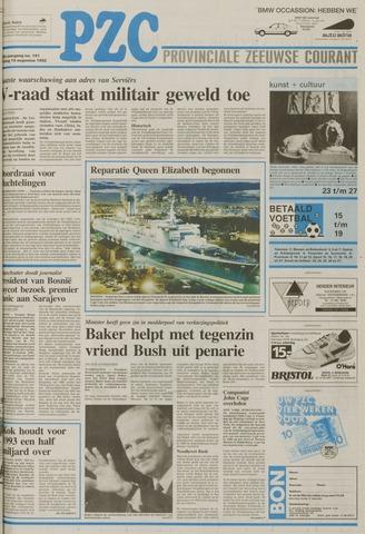 Provinciale Zeeuwse Courant 1992-08-14