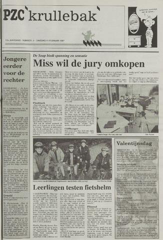 Provinciale Zeeuwse Courant katern Krullenbak (1981-1999) 1997-02-11