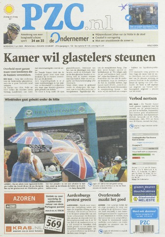 Provinciale Zeeuwse Courant 2009-07-01