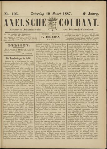 Axelsche Courant 1887-03-19