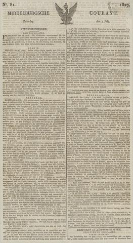 Middelburgsche Courant 1827-07-07