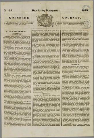 Goessche Courant 1849-08-09