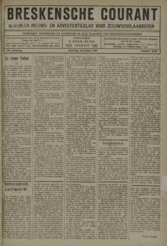Breskensche Courant 1919-11-01