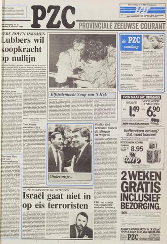 Provinciale Zeeuwse Courant 1987-02-02