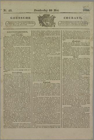 Goessche Courant 1845-05-29