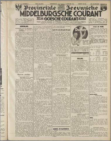 Middelburgsche Courant 1936-01-09