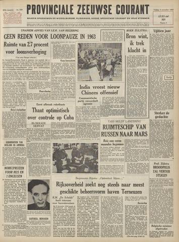 Provinciale Zeeuwse Courant 1962-11-02