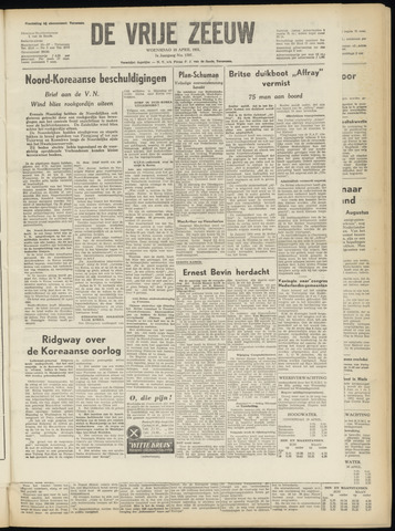 de Vrije Zeeuw 1951-04-18