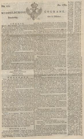 Middelburgsche Courant 1761-10-08