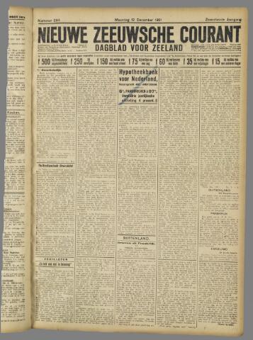 Nieuwe Zeeuwsche Courant 1921-12-12