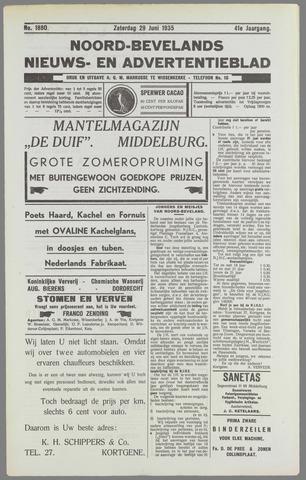 Noord-Bevelands Nieuws- en advertentieblad 1935-06-29