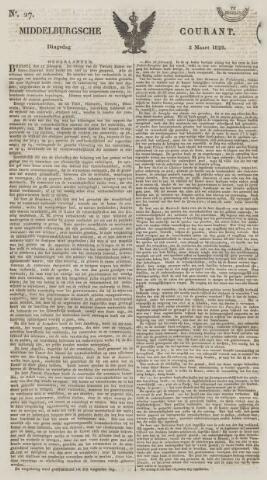 Middelburgsche Courant 1829-03-03