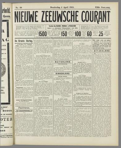 Nieuwe Zeeuwsche Courant 1915-04-01