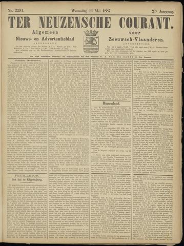 Ter Neuzensche Courant. Algemeen Nieuws- en Advertentieblad voor Zeeuwsch-Vlaanderen / Neuzensche Courant ... (idem) / (Algemeen) nieuws en advertentieblad voor Zeeuwsch-Vlaanderen 1887-05-11