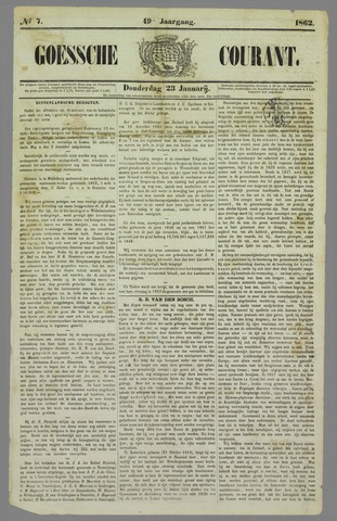 Goessche Courant 1862-01-23