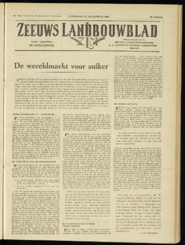 Zeeuwsch landbouwblad ... ZLM land- en tuinbouwblad 1960-08-27