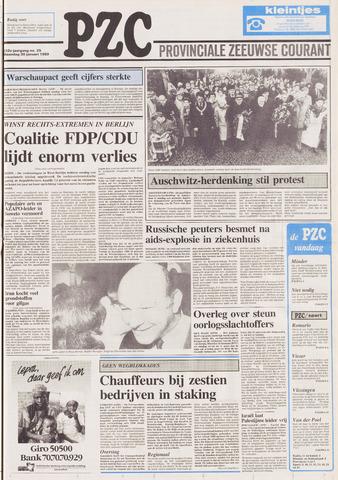 Provinciale Zeeuwse Courant 1989-01-30
