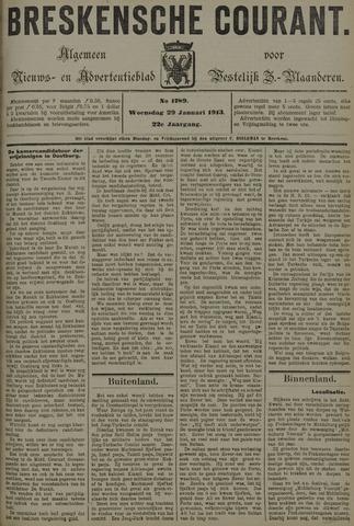Breskensche Courant 1913-01-29