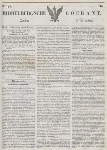 Middelburgsche Courant 1867-11-24