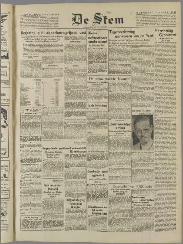 de Stem 1948-03-03