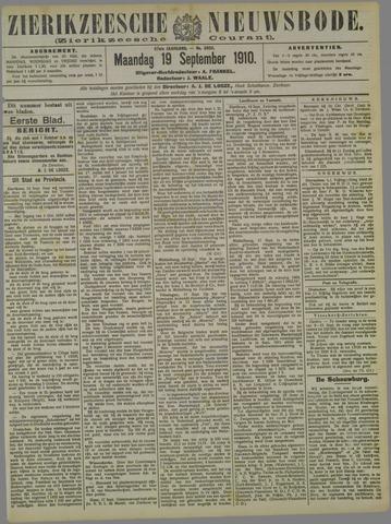 Zierikzeesche Nieuwsbode 1910-09-19