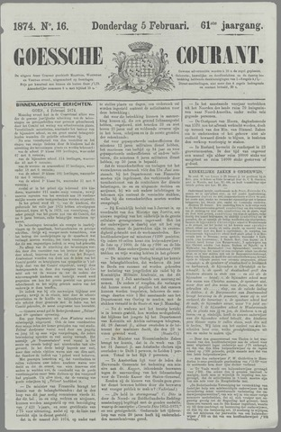 Goessche Courant 1874-02-05