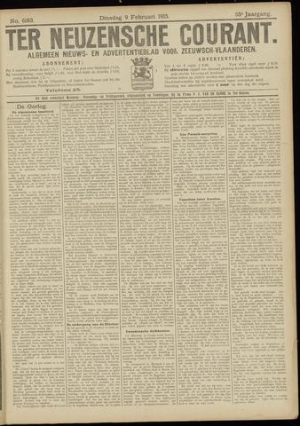 Ter Neuzensche Courant. Algemeen Nieuws- en Advertentieblad voor Zeeuwsch-Vlaanderen / Neuzensche Courant ... (idem) / (Algemeen) nieuws en advertentieblad voor Zeeuwsch-Vlaanderen 1915-02-09