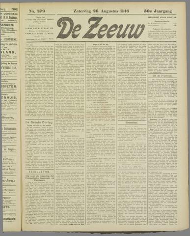 De Zeeuw. Christelijk-historisch nieuwsblad voor Zeeland 1916-08-26